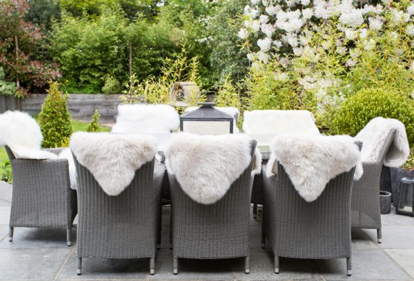 Classic Sheepskin - Summer Dining