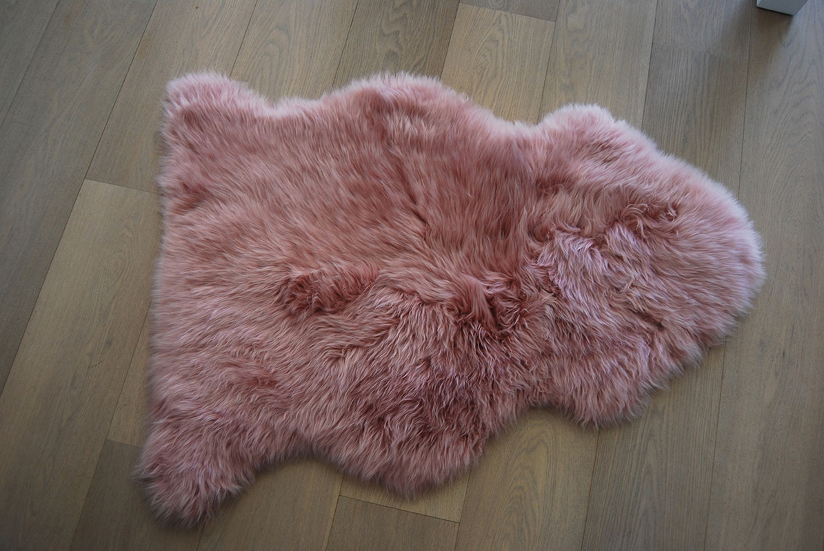 products white icelandic skin streaks black natural sheep sheepskin rug with lg
