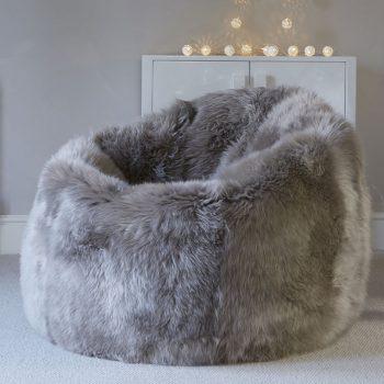Luxury Sheepskin Beanbag