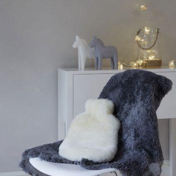 Sheepskin Hot Water Bottle Cover
