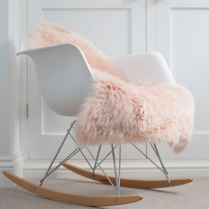 Buy A Baby Pink Sheepskin Online At Nordic Sheepskin