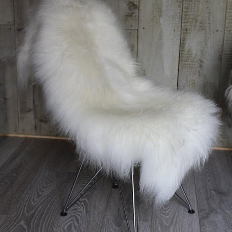 Pure Icelandic Ivory Sheepskin